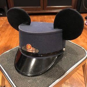 Disney Conductor Red Car Trolley Mickey Ears GS641